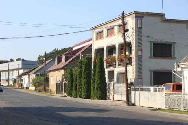 главная улица Солотвино