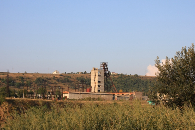 шахта в Солотвино