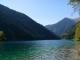 Красивая осень в Казахстане, озеро