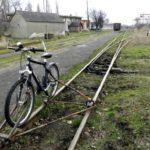 Новое развлечение для туристов в Берегово: езда на велосипеде по узкоколейке