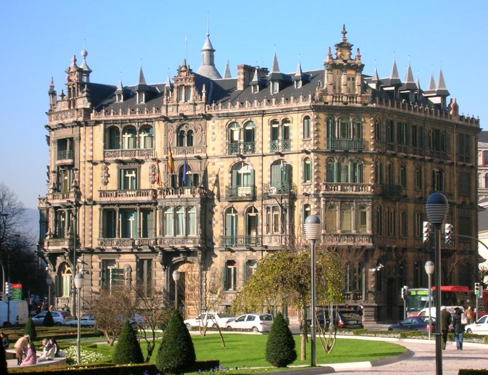 Европа : Бильбао - город в Стране Басков