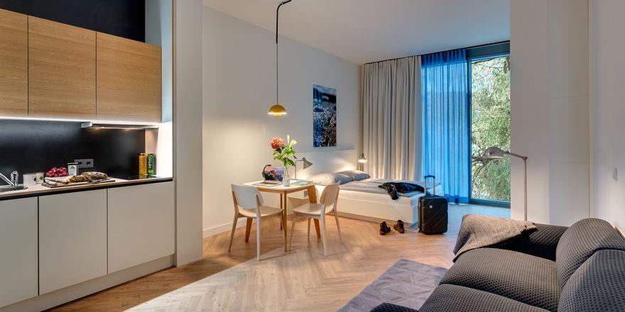 Россия : Бизнес-апартаменты в апарт отеле
