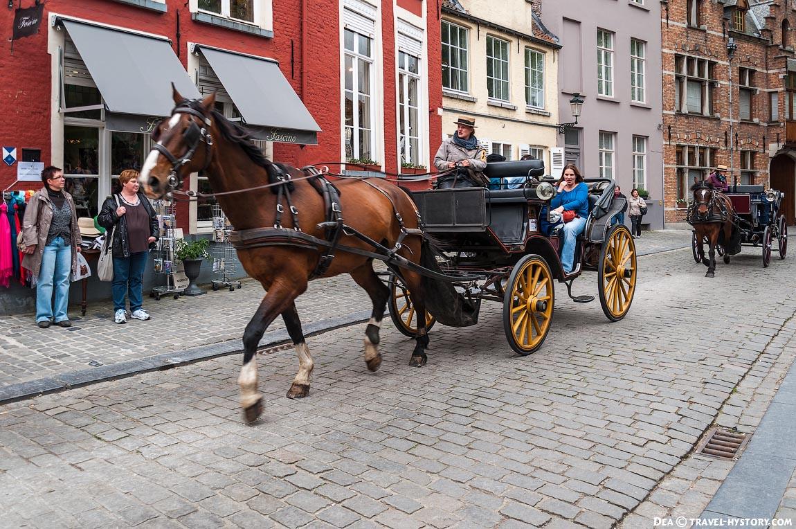 Европа Интересно знать : Брюгге – самый красивый город Бельгии