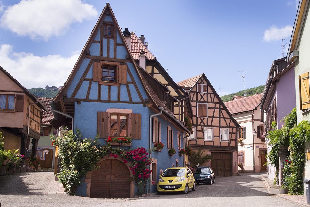 Европа : Эльзас - путешествие в сказку