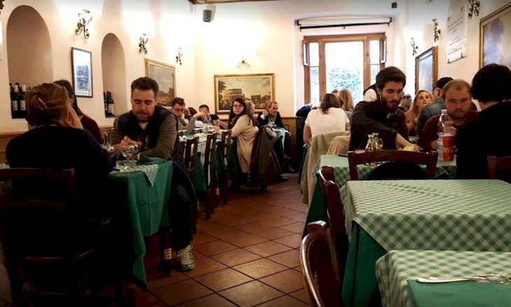 Европа : Гастро-тур по Риму: что и где пробовать